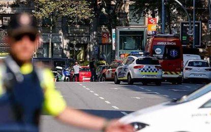 Premier bilan officiel des attentats de Barcelone