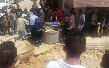 Ben Guerdane : Évacuation de 2 employés de l'Onas tombés dans une tranchée