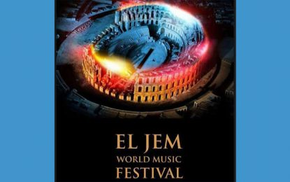 Festival : El-Jem World Music du 15 au 26 août 2017