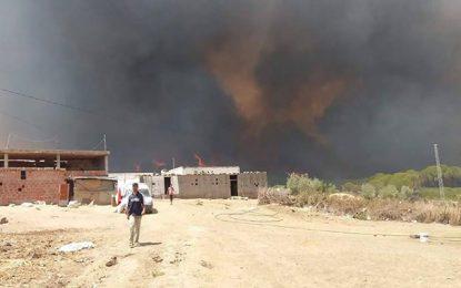 Bizerte : Nouvel incendie à Sejnane