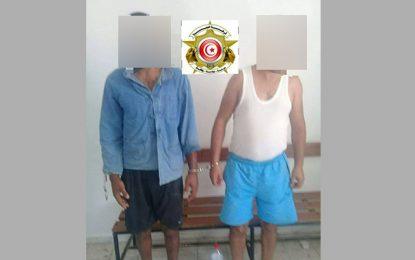 Deux arrestation à Sfax pour vol de camions