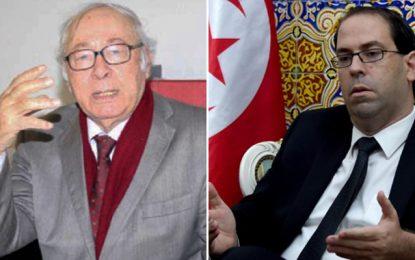 Temimi à Chahed : «Ne faites pas confiance à Ennahdha et Nidaa»