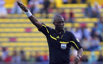 Alioum Neant arbitre du derby Espérance – Club africain