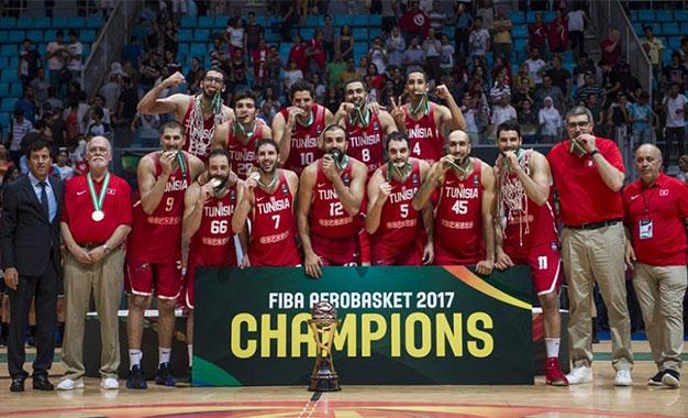 chaussures de sport 9fc96 9c622 Afrobasket 2017 : La Tunisie reine d'Afrique - Kapitalis
