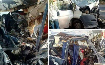 Bizerte : Un bébé et ses parents meurent dans un accident
