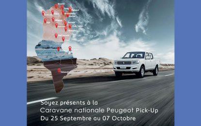 Stafim organise une caravane nationale Peugeot Pick Up