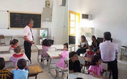 Ksibet El-Mediouni : Le délégué remplace l'instituteur