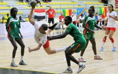 CAN cadettes de handball : Les Tunisiennes déroulent