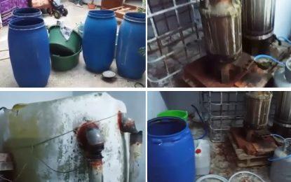 Entrepôt illégal de téquila géré par 2 femmes à Kairouan