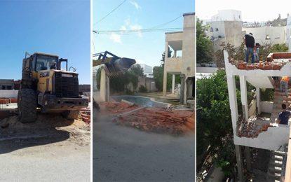 La Marsa : Campagne contre les constructions illégales