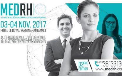 Ressources humaines : Les 2e MEDRH les 3 et 4 novembre 2017