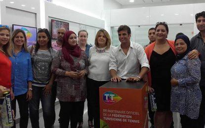 Tunisie Telecomorganise une rencontre de Malek Jaziri avec ses fans