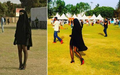 Une femme en «sexy-niqab» suscite la polémique au Maroc