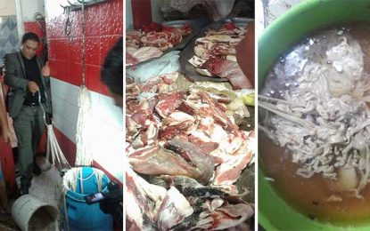 El-Mnihla : Saisie de 600 kg de viandes avariées