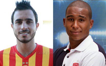 Football : Mohamed Ali Moncer et Seifeddine Jaziri en Egypte