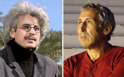 Nacer Khémir et Mohamed Challouf à la Mostra De Venise