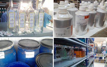 Radès : Découverte d'un entrepôt de contrefaçon de parfums
