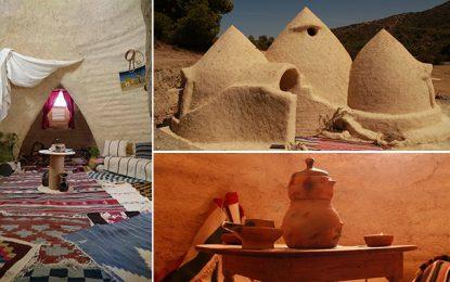 Siliana : De magnifiques éco-dômes construits à Jebel Bargou