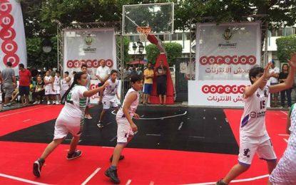 Ooredoo met en lumière le basket dans la capitale