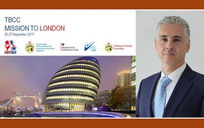TBCC : Mission d'hommes d'affaires tunisiens à Londres