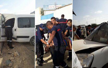 Tozeur : Deux accidents, au même endroit, le même jour