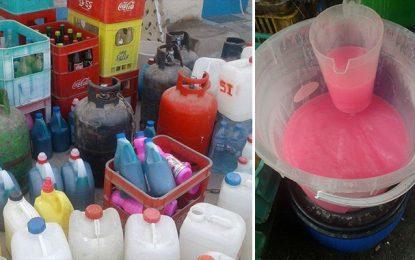 Des produits ménagers suspects en vente à Tunis