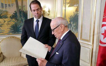 Sondage : Baisse de la popularité de Youssef Chahed et Béji Caïd Essebsi