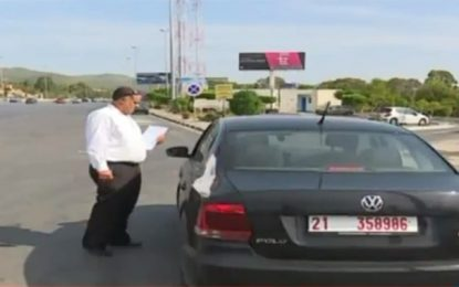 Baisse des infractions dans l'utilisation des voitures administratives