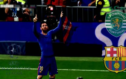 FC Barcelone-Sporting : UEFA en streaming