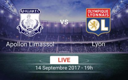 OL-Apollon: Ligue Europa en streaming