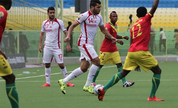 """Mondial-2018: Première séance d'entrainement pour la sélection tunisienne à Conakry"""""""