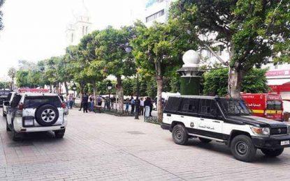 Tunis : Un sac suspect provoque la panique à l'avenue Bourguiba