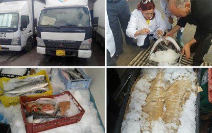 Plus d'une tonne de poisson pourri saisie à Ben Arous
