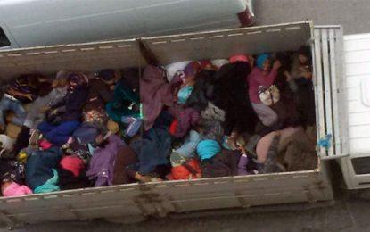 Bizerte : Enquête sur le camion transportant des femmes comme du bétail
