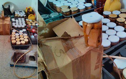 Du thon en conserve préparé dans un entrepôt illégal à Bizerte