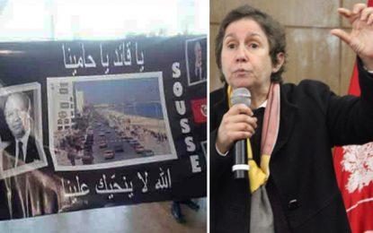 Maya Jribi dénonce : Caïd Essebsi reçu à Sousse comme Ben Ali