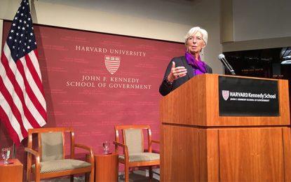 Tunisie – FMI: Décryptage du discours de Lagarde à Harvard