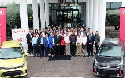 City Cars récompense les meilleurs opérateurs du réseau Kia
