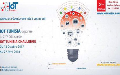 IoT Tunisia Challenge : La 2e édition d'octobre 2017 à avril 2018