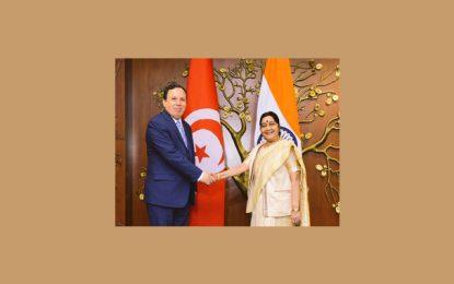 La Tunisie et l'Inde plus unies par les liens de l'anti-terrorisme