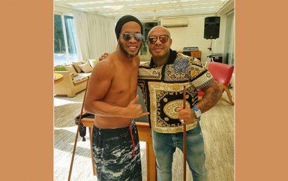 Brésil : K2Rhym prépare un projet avec Ronaldinho