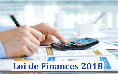 Projet de Loi de Finances 2018: Principales prévisions macroéconomiques