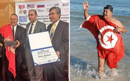 Belhedi : «Homme mondial de l'année» pour la nage en eau libre