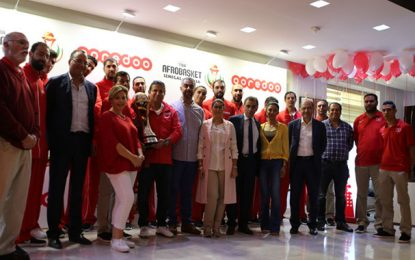 Ooredoo Tunisie honore les champions d'Afrique de Basketball