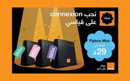 Les nouveaux forfaits Flybox Max d'Orange Tunisie