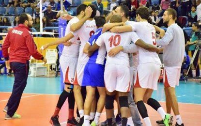Championnat d'Afrique hommes de volleyball : Tunisie-Egypte en finale