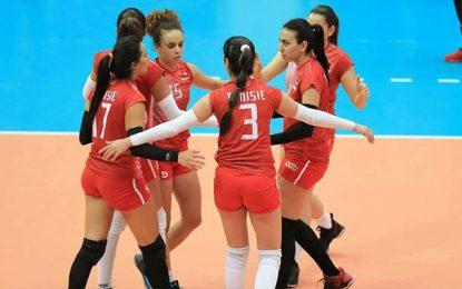 Volleyball-Championnat d'Afrique seniors dames: Bon début de la Tunisie