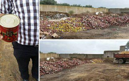 Soliman : Saisie de 11.000 boîtes de conserve périmées