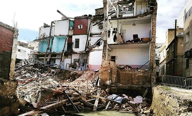 Kapitalis effondrement d immeuble sousse deux personnes arr t es kapitalis - Responsable d immeuble ...