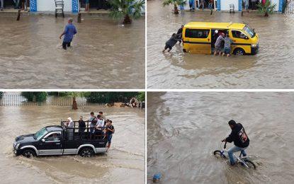 Tunis : Première pluie, premières inondations